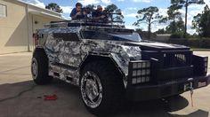 Parker Brothers Concepts custom built hunting vehicle.