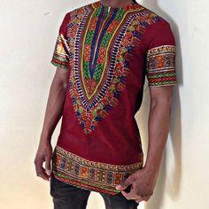 Dashiki Shirt by CadoreCouture on Etsy, £50.00