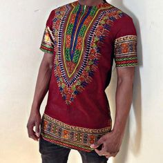 Dashiki Shirt by CadoreCouture on Etsy, £50.00