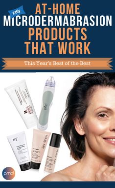Did you know that you can get the same benefits of a dermatologist's microdermabrasion treatment at home? There are many microdermabrasion products out there that claim to do just that. But here are the ones that actually work! Mary Kay TimeWise Microdermabrasion Set