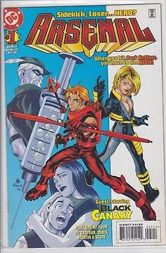 Arsenal #1 DC Comics 1998 solo roy harper the Arrow Black Canary