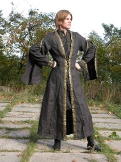 Medieval Tunic and Overcoat