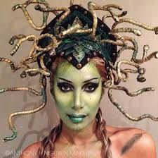 Image result for medusa makeup