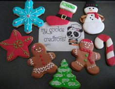 #throwback to #christmascookies #mycookiecreations #bestseason ☺❤#cookies