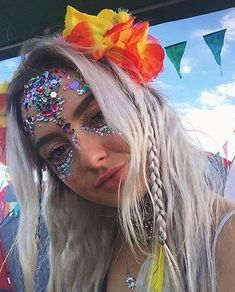 Glamorous Handmade Masquerade, Jewelries & Accessories by Glamorousgala Unicorn Princess, Face Jewellery, Diamond Face, Face Jewels, Face Stickers, Festival Looks, Quites, Rave Outfits, Masquerade