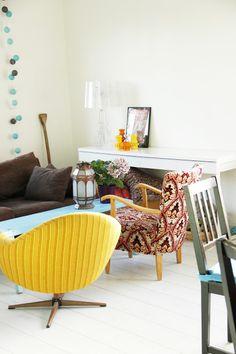 lattia Outdoor Furniture Sets, Outdoor Decor, Retro Home, Sweet Home, Home Decor, Decoration Home, House Beautiful, Room Decor, Home Interior Design