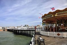 Victorian Brighton Palace Pier, opened to the public in May 1899, Brighton City, Brighton & Hove,...