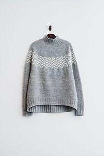 Ravelry: Monochrome Pullover pattern by Katrin Schneider