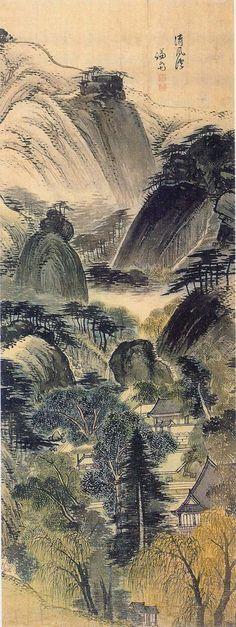 겸재(謙齋) 정선(鄭敾, 1676–1759). was a well-known Korean landscape painter, also known as by his pen name Gyeomjae (meaning humble study). He was one of the few known Korean painters to depart from traditional Chinese styles. It is reported that he frequently left his studio and painted the world around him, as he could see it. Soon, Jeong Seon inspired other Korean artists to follow suit, leaving a lasting impact on Korean art of the Joseon era.