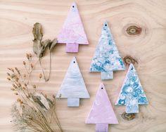 Decoración de Navidad, Christmas Decoration, Arbolitos Navideños de iideainmadrid en Etsy