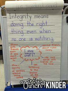A Pinch of Kinder: Teaching Integrity in FDK and Hosting an Integrity Assembly