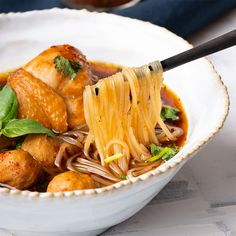 Marion's Kitchen is packed with simple and delicious Asian recipes and food ideas. Nutritious Snacks, Healthy Snacks, Healthy Recipes, Thai Chicken Noodles, Thai Noodle Soups, Lime Chicken, Asian Recipes, Ethnic Recipes, Chinese Recipes