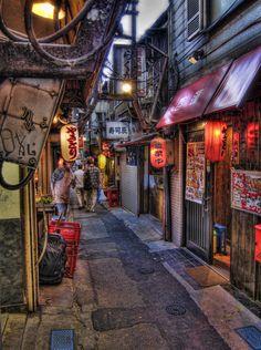 Omoide Yokocho Alley. Shinjuku 7 Chome, Tokyo