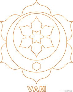 chakra symbols coloring pages - photo#27