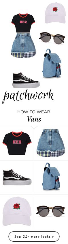 """Untitled #634"" by same-old-bobby on Polyvore featuring Natasha Zinko, Vans, Illesteva and Armitage Avenue"