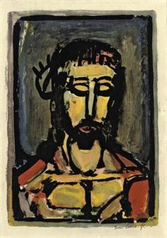 Georges Rouault (1871-1959) | Ecce dolor, from the Passion (Chapon ...