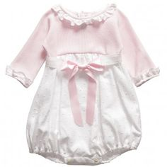 Ancar Baby Girls Pink Cotton Shortie at Childrensalon.com