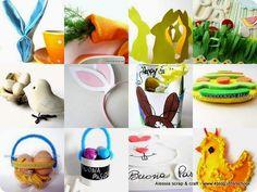 Tutte le decorazioni di Pasqua di Alessia scrap & craft, #easter #stuff