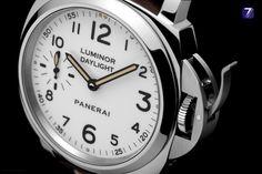 OFFICINE PANERAI – LUMINOR DAYLIGHT 8 DAYS ACCIAIO – 44mm Unique edition of 500 units