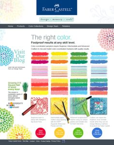 Great chart of colors