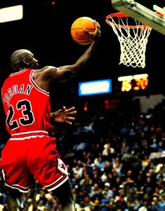 Michael Jordan...I was named after him (middle name)