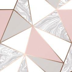 Zara Marble Metallic Wallpaper Soft Pink Rose Gold - Wallpaper from I Love Wallpaper UK Pink Geometric Wallpaper, Pastel Pink Wallpaper, Rose Gold Wallpaper, Damask Wallpaper, Love Wallpaper, Wallpaper Samples, Latest Wallpaper, Copper Wallpaper, Wallpaper Designs