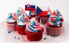 Hokejové Red Velvet cupcakes se smetanovým krémem » Pečení je radost