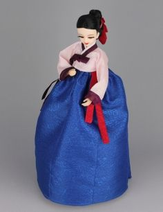 Korean Doll Wearing Hanbok