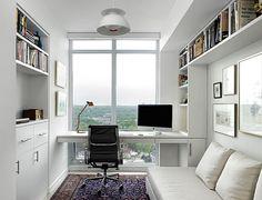 Resultado de imagem para home office e quarto de hóspedes