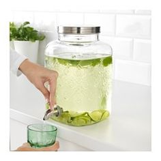 IKEA - FÖRFRISKNING, Beverage dispenser, Perfect for your garden party or picnic, as the beverage dispenser can be used outdoors.
