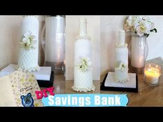 DIY - WINE BOTTLE SAVINGS PIGGY BANK - $5.00 | Perfect Diy Room Decor & Project | 2016 - YouTube