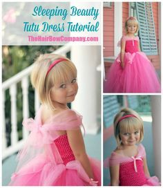 What& better than a beautiful pink princess dress? Nothing is better! This gorgeous pink dress will instantly be your daughter& favorite. Use it as a Sleeping Beauty costume, a Barbie-inspired costume, or just for dress up fun! Little Princess, Princess Tutu Dresses, Disney Dresses, Princess Dress Tutorials, Disney Princess, Sleeping Beauty Costume, Sleeping Beauty Party, Diy Tutu, Diy Dress