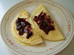 A Dash Of Tash: Blueberry & Banana Crepes