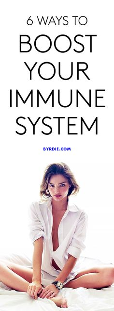 How to boost your immune system right now