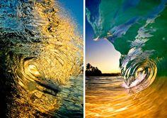 """Tricky Lighting ~ """"The Shorebreak Art of Clark Little"""" is nothing short of epic."""