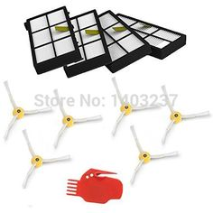 900 Series 980 Robotic Vacuum Parts Vacuum Cleaner Kit A Great Variety Of Goods 10 Pieces Side Brush 3 Armed For Irobot Roomba 800 Series 870 880