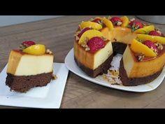 MIRA COMO HACER CHOCOFLAN sin pan de caja - YouTube Flancocho Recipe, Chocoflan Recipe, Flan Cake, Cheesecake Cake, Cupcake Party, Cupcake Cakes, Cake Pop Designs, Little Chef, Dessert Recipes