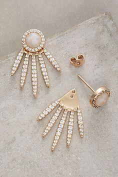 Fanned Sol Earrings - anthropologie.com