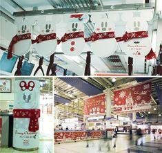 「可愛すぎる!」雪だるまミッキーの品川駅ジャック-OOHの秀逸事例42連発 | 販促会議 2014年3月号
