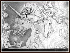 Unicornios Brancos by magellanic