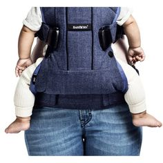 c004d96cd42 BABYBJORN Baby Carrier One - Denim Gray - Walmart.com