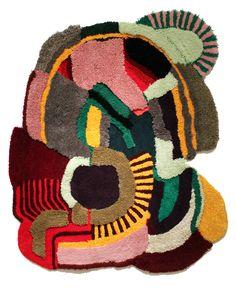 Tapeçaria ultra colorida e alegre de Jonathan Josefsson #tapecaria #tapetes #decor { post by www.mariarossetti.com.br }