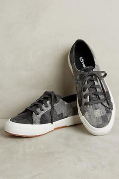 Superga Flannel Low-Top Sneakers