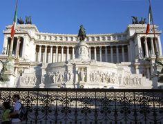 Monumento a Vittorio Emanuele II (Vittoriano), en la Plaza Venecia