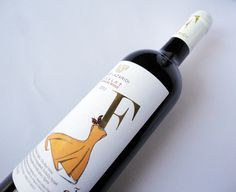Label - TIEM ADV - Creative Group Label, Wine, Drinks, Bottle, Creative, Red, Drinking, Beverages, Flask