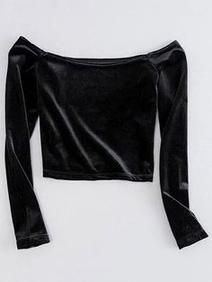 SHARE & Get it FREE   Off The Shoulder Cropped Velvet TopFor Fashion Lovers only:80,000+ Items • New Arrivals Daily Join Zaful: Get YOUR $50 NOW!