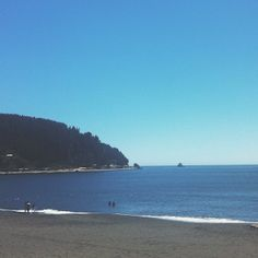 Playa Colcura, Lota, Chile.