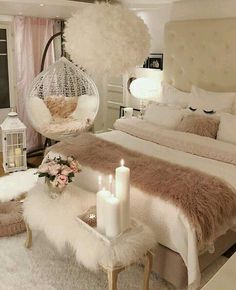 35 comfy living room decor ideas to relax 18 - Decor Life Style Cute Bedroom Ideas, Cute Room Decor, Girl Bedroom Designs, Room Ideas Bedroom, Bedroom Decorating Ideas, Bedroom Bed, Bedroom 2018, Design Bedroom, Comfy Room Ideas