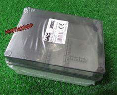cassetta stagna da parete scatola derivazione coperchio fumè 150x110x70