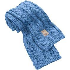 Nike North Carolina Tar Heels (UNC) Ladies Carolina Blue Woven Knit Scarf $24.95